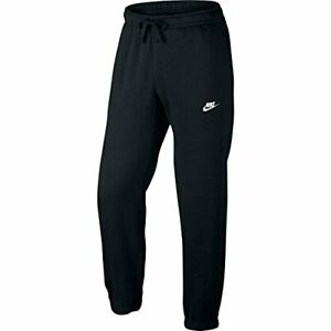 Nuevo Nike Para Hombres Trotar Pantalon Chandal Pantalones Deportivos Gimnasio Pantalones Negro Talla S Ebay