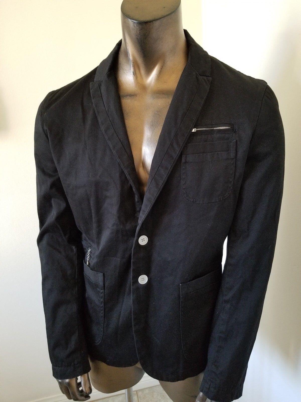DIESEL fancy cotton BLAZER - worn twice - Size XL