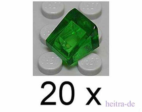 Dachstein 30 Grad 1x1x2//3 transparent grün 54200 NEUWARE 20 x Mini LEGO