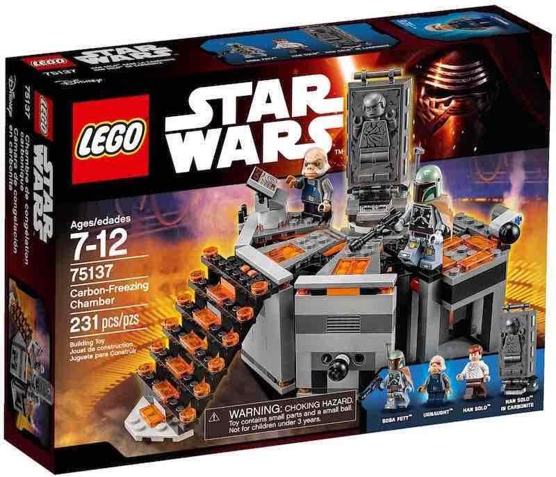 LEGO STAR WARS 75137 75137 75137 - CARBON FREEZING CHAMBER  NO MINIFIGURAS   NO MINIFIGURES dbb31b