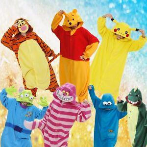 2019 DernièRe Conception Anime Cosplay Pyjamas Costume Hoodies Animal Adulte One Pie Robe Fantaisie Unisexe Uk Correspondant En Couleur