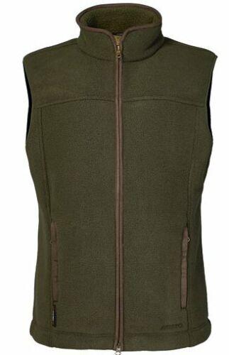 Musto Melford in Pile Corpo caldo Gilet Verde Muschio-CS0574
