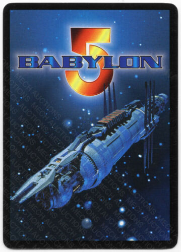 Babylon 5 CCG Premier Promo Card Destroy The Opposition Used Played
