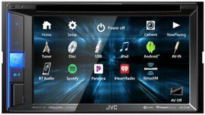 NEW JVC KW-V25BT 2 DIN DVD/CD Player Bluetooth SiriusXM Pandora Spotify Control