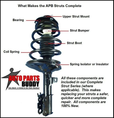 New GM 4X4 Pickup Front Complete Strut Assembly Lifetime Warranty Free Shipping