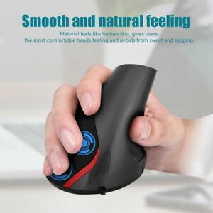 Wired-Vertical-Ergonomic-Working-USB-Optical-Mouse-3200-DPI-6-Buttons-PC-ASB-TDM