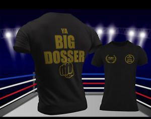 Unisex Black Tyson Fury Gypsy King T-Shirt Shirt Boxing