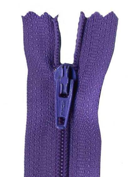 20cm Purple Dress Zip