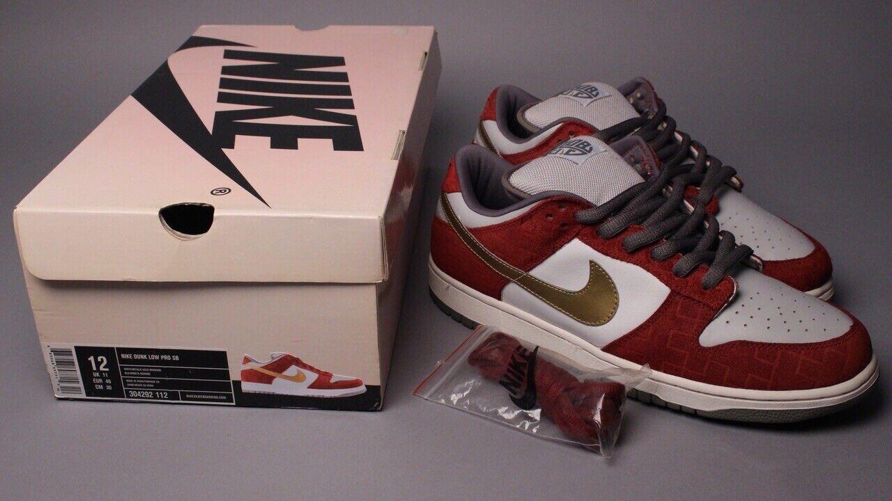 2004 Nike Dunk Low Pro SB Shanghai 304292 112 sz 12 Pigeon Panda Lobster RARE
