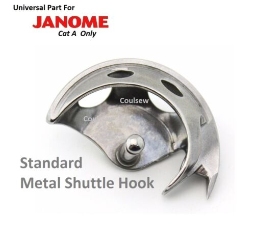 STANDARD UNIVERSAL STRONG METAL SHUTTLE HOOK FITS JANOME SEWING MACHINE