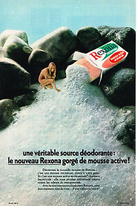 Publicite Advertising 024 1972 Rexona Savon Déodorant Collectibles