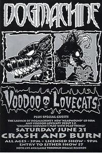Dogmachine-Voodoo-Lovecats-original-gig-flyer-from-1997