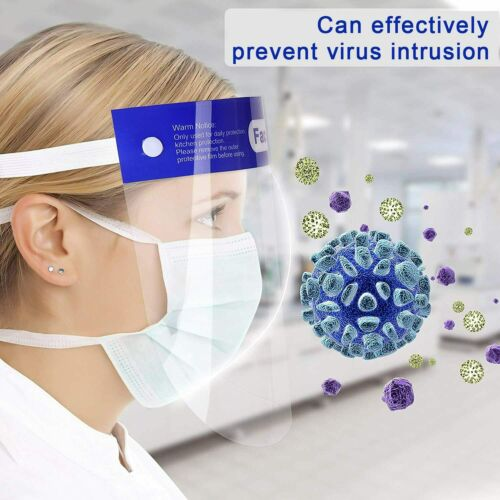 Face Full Safety Shield Reusable Respirator Cover Splash Washable Protection