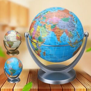 Rotating Globe Earth Ocean World Geography Map Children Kids - World globe map for kids