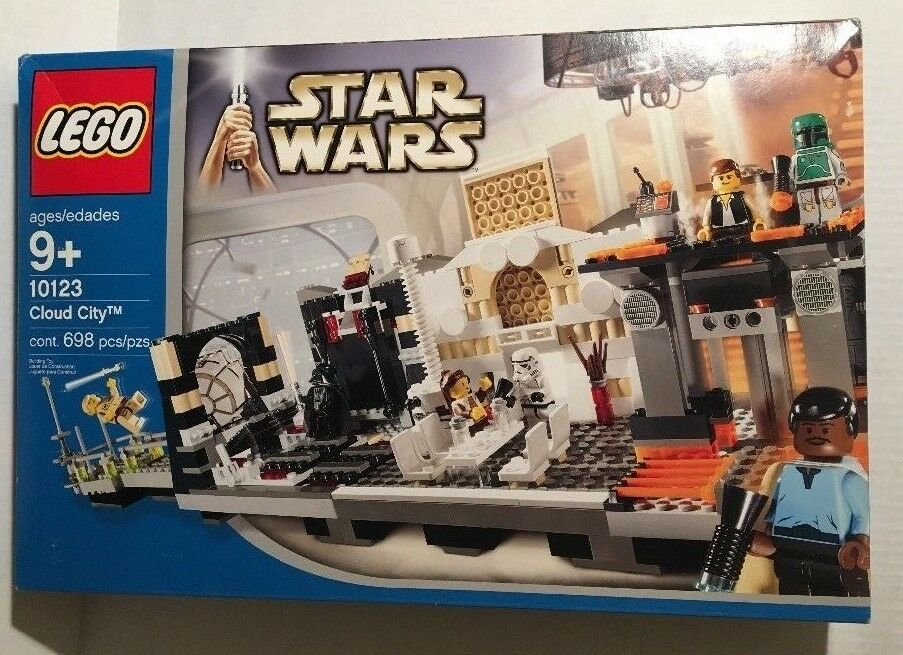 Lego Star Wars 10123 Cloud City Gorgeous Sealed Box Looks Store Bought Boba Fett