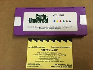 10pc: NT3L PHT TOP NOTCH THREADING CARBIDE INSERT CARBI-UNIVERSA<wbr/>L