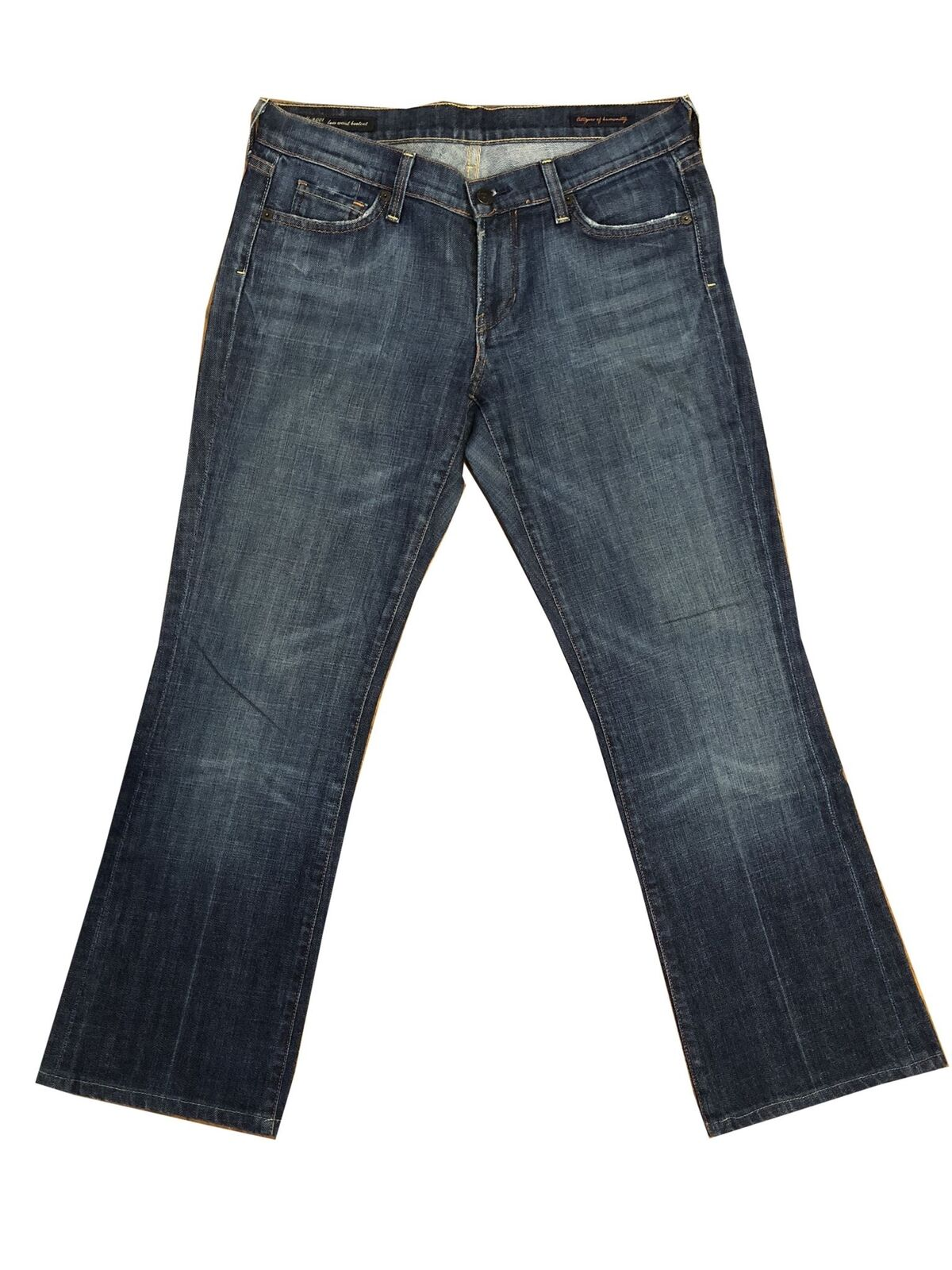 Citizens of Humanity Kelly Stretch Low Waist Bootcut Jeans Size 29