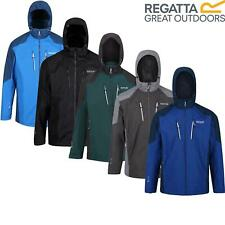 Regatta Mens Calderdale III Waterproof Jacket Full Zip Up Hooded Breathable Coat
