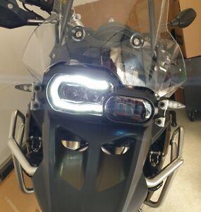 HEADLIGHT-FARO-LED-BMW-F650-GS-F700GS-F800GS-amp-ADV-F800R-Certificato-EU