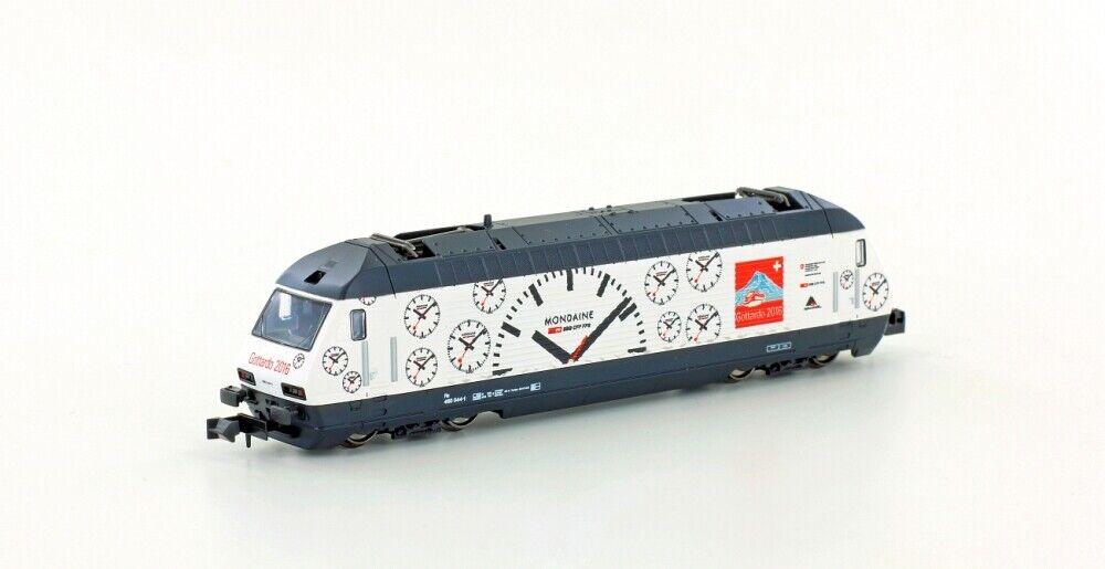 Kato K137118 Locomotora Eléctrica SBB Re4 4 460 Mondaine, Ep.vi-v