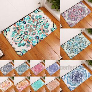 New Flowers Floor Mat Home Decor Rug Carpet Entrance Indoor Bath Bedroom Doormat