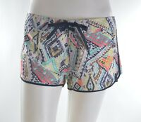 2015 Womens Billabong In The Works Boardshort $50 M Multi Mosaic Print