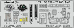 Eduard-Accessories-SS706-1-72-A-4F-for-Hobby-Boss-New