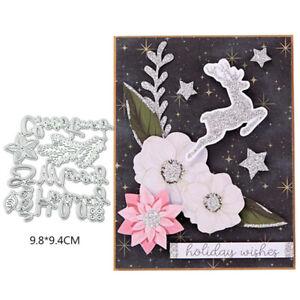 Flower Lattice Cutting Dies Stencil DIY Scrapbooking Album Paper Card Embossing