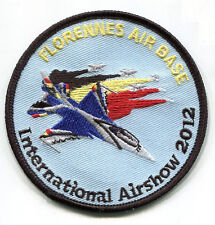 NTM NATO TIGER MEET VELCRO PATCH: 2012 FLORENNES AIR BASE INTERNATIONAL AIR SHOW