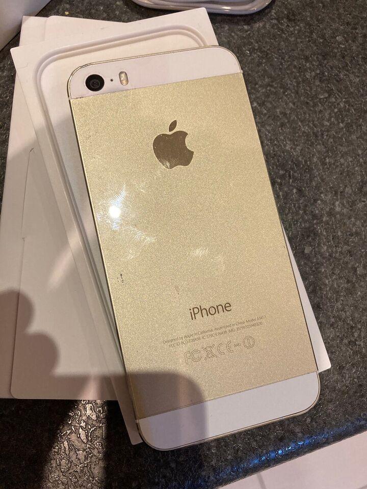 iPhone 5S, 64 GB, guld