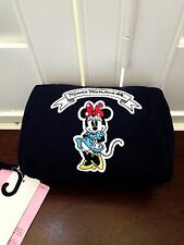 UNIQLO x OLYMPIA LE-TAN Disney Minnie Mouse Loves Dots Blue Pouch NWT