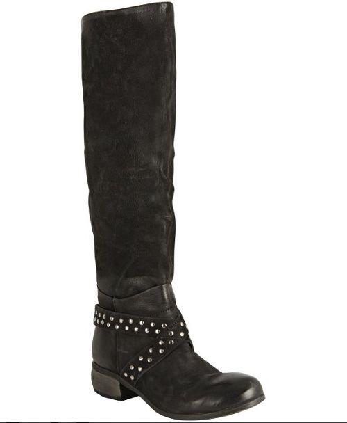 risposta prima volta Boutique 9 Dimensione 5.5 M Fallout Fallout Fallout nero Leather Knee High stivali New donna scarpe  di moda