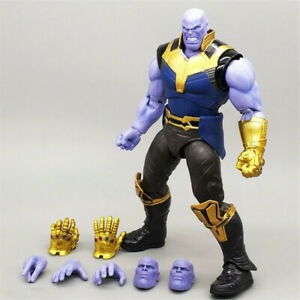 The-Avengers-Marvel-Legends-6-034-Thanos-Action-Figure-Toys-With-Face-Fist-Gloves