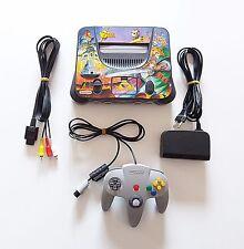 Consola Nintendo 64 Zelda Ocarina of Time + Mando + Cables (Original) (N64)