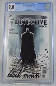 Detective-Comics-871-CGC-9-8-1st-Black-Mirror-Scott-Snyder