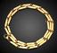 18k-feine-Goldkette-Koenigskette-vergoldet-55cm-lang-fuer-Damen-Herren-Geschenk Indexbild 3