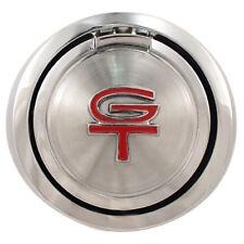 1970 Mustang Chrome Fuel Gas Cap Pop Open Flip Cap without Emblem Dynacorn T83