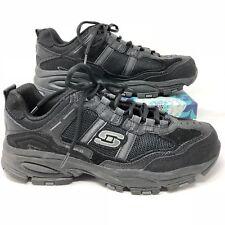 Black Boys/' S Sport by Skechers Quinton Black Athletic Shoes