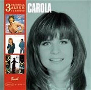 "Carola - ""Original album classics 1984-93"" - 2011 - CD Boxset"