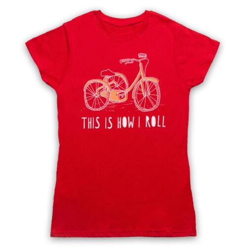 Tricycle Rétro this is how i roll Drôle Parodie Mignon Hommes Femmes Enfants T-Shirt