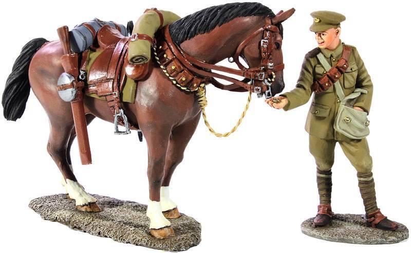 23063 - 1916-18 British Lancer Feed häst - WWI - W. Britannien