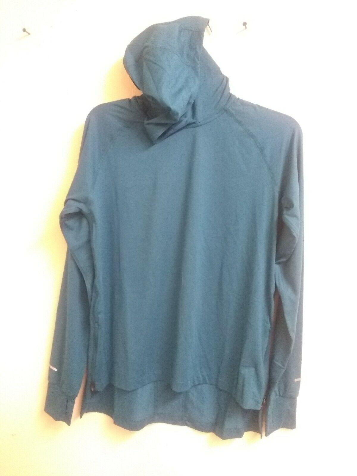 ASICS Damen Thermopolis Kapuze Blaugrün Farbe M