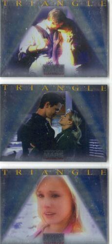 Veronica Mars Season 1 Complete Triangle Boxloader Chase Card Set BL1-BL3