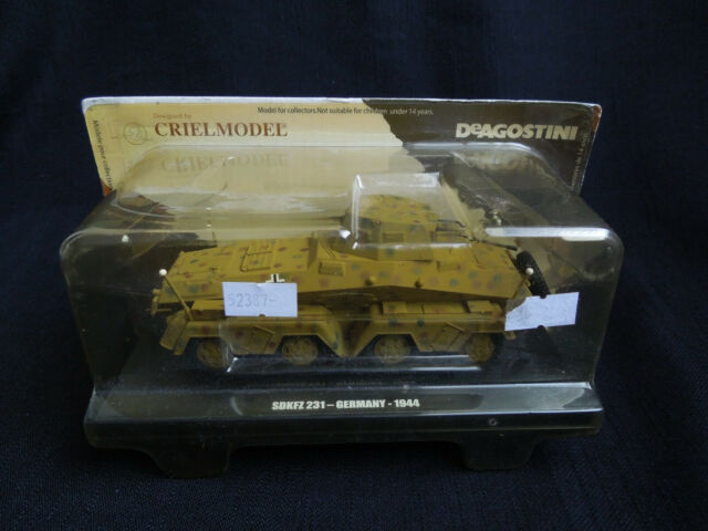 Sd.KFz. 231 Diecast DeAgostini 1:43 German armoured recon car 1944