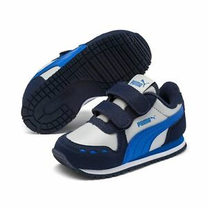 Details about Puma Cabana Racer Sl V Inf Children Shoes Trainers 351980  Peacoat High Rise
