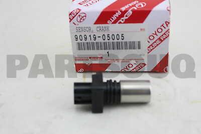 9091905005 Genuine Toyota SENSOR CRANK POSITION 90919-05005
