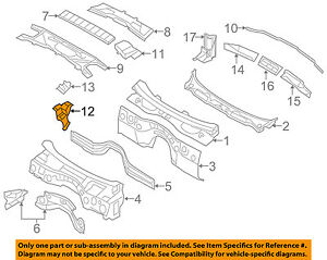 BMW-OEM-07-13-328i-Cowl-Drain-Left-64316925977