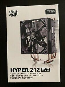 Cooler Master - Hyper 212 EVO - CPU Cooler with 120 mm PWM Fan RR-212E-20PK-R2