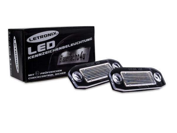 18 Smd Led Kennzeichenbeleuchtung Letronix Volvo Cx70 Bj Ab 07 E4 100% Garantie
