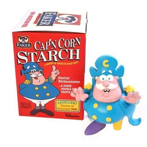 Capn Cornstarch Crunch Berries colorway by Ron English 9  Vinyl Figure